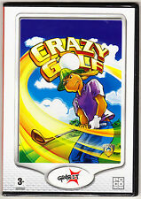 Crazy GOLF-originale strategia / gioco di abilità-WINDOWS-NUOVO e SIGILLATO PC CD ROM