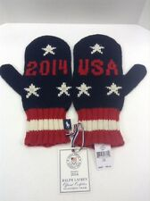 Polo Ralph Lauren 2014 US Olympic Team Wool Mittens Sochi Men S M $98 NWT New