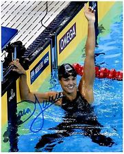 DARA TORRES Signed Autographed TEAM U.S.A. Olympic Swimming 8x10 Pic. G