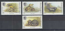 Swaziland Sc 539-542 MNH. 1989 Small Animals, complete set, VF