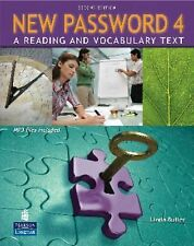 New Password 4 : A Reading and Vocabulary Text by Linda Butler (2009, Paperback)
