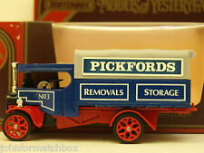 Matchbox Yesteryear Y27 Foden,Pickfords,tow hook.