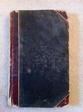 1908 Ledger, Walter Ziegler Printer for Textile Knit Goods Industry Riverside NJ