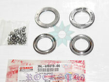 YAMAHA RX 100 STEERING RACE BEARING CONE SET RS100 RS125 RD200 RX100 RX125 RD400