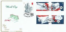 (96366) GB Cotswold FDC Football Worl Cup Minisheet Wembley Stadium 21 May 2002