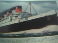 ships 1937 picture queen mary atlantic record breaker