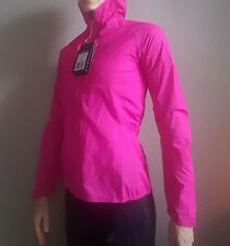 Women's Brand New Pink Asics Water Proof Jacket RRP £120 - Small