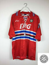 Retro SAMPDORIA 94/95 Third Football Shirt (L) Soccer Jersey Vintage Asics