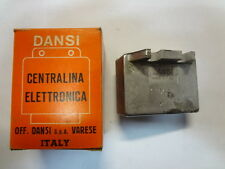 REGOLATORE centralina regulator unit MALAGUTI - imp. DANSI 6v