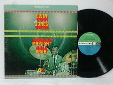 ELVIN JONES Midnight Walk LP SD1485 LP green/blue ATLANTIC