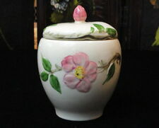 VINTAGE Franciscan China DESERT ROSE (MADE IN USA) Jam / Jelly / Marmalde Jar