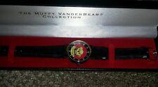 Muffy VanderBear Watch -black  Leather Band