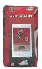 "Ohio State Brutus Buckeye House Flag Banner 28"" x 40""  Team Logos Made in USA"