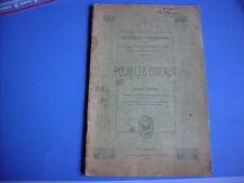 pour les oiseaux livre adrien legros protection nichoirs ..... 1923