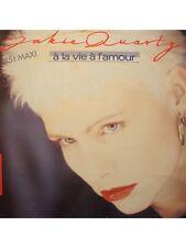 JAKIE QUARTZ à la vie à l'amour/bye bye l'ennui MAXI 1987 CBS EX++