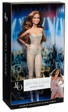 Poupée barbie avec vêtements-Jennifer Lopez world tour black label y3357 BNIB