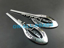 Chrome Fuel Gas Tank Emblem Badge Decal Sticker for Honda Shadow Motorcycle New