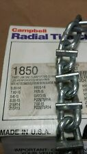 1Set NEW bar reinforced 1850 SNOW TIRE CHAINS P235/75R15 P225/75R15 P215/75R15 +