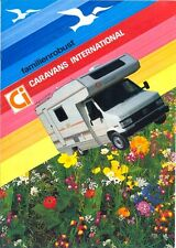Fiat Ducato by Caravans International 1993 Camper Van sales brochure