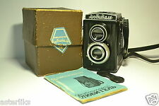 LOMO LUBITEL 1 in BOX Old Soviet / Russian TLR Camera