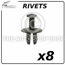 Panel Clips Plastic Rivets 12 MM BMW Series 1/Series 3 Pack of 8 Part 12676