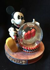 Disney Mickey Mouse 100 Years of Magic Anniversary Snowglobe Figure Display