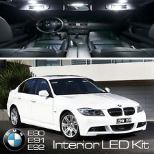 BMW 3 SERIES FULL 14/pc LED UPGRADE ERROR FREE PURE WHITE INTERIOR LIGHT KIT