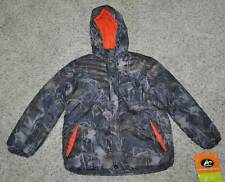 NWT $50-Boys Athletech Green Camoflauge Puffy Heavy Winter Ski Snow Jacket-14/16
