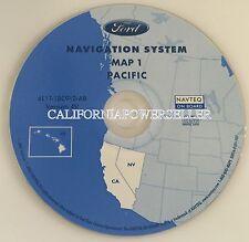 2003 LINCOLN NAVIGATOR SPORT UTILITY NAVIGATION MAP DISC 2007 CD 1 4V CA NV HI