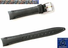 TIMEX Watch Strap Band for T2M433 Retrograde, Black Genuine Leather, Original