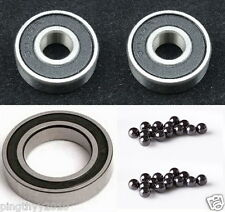 Total Ceramic Bearing kit fit Mavic Rear hub: Crosstrail (3pcs)