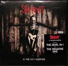 SLIPKNOT - 5 : THE GREY CHAPTER - 2LP VINYL NEW SEALED 2014