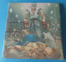 STREET FIGHTER RYU FIGHTER tela stampa FIGURE ANIMATE stile Wall Art 16x16