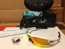 NEW Oakley 30 years Limited Ed Radar Path Polished White / Fire Iridium, 26-267