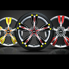 "18"" 4 Wheel Point Decal Stikers For 2013-2016 Hyundai Veloster Turbo"