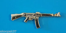 STG44 STURMGEWHR 44 ASSAULT RIFLE 44 BADGE GOLD PLATED 50MM WITH 2 PINS