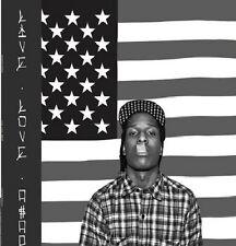 """A$AP ROCKY """" LIVE.LOVE.A$AP """" NEW UK LP ASAP LIVE LOVE ASAP SLIGHT DAMAGED SLVE"""
