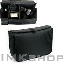NEW MATIN Camera Insert Extendable Partition Padded Bag (L) for DSLR SLR Lens