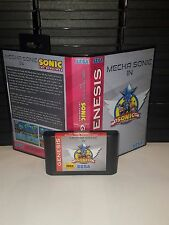 Mecha in Sonic The Hedgehog 1 Game for Sega Genesis! Cart and Box!