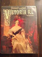 VINTAGE BOOK Victoria R.I. Illustrated Edition by Elizabeth Longford store#3990B
