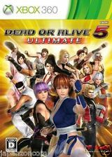 Used Xbox 360 Dead or Alive 5 Ultimate  MICROSOFT JAPAN JAPANESE JAPONAIS IMPORT