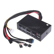 USB 3.0 USB 2.0 All In One Media Dashboard Front Panel PC Multi Card Reader K3N8