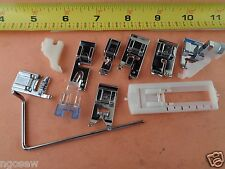 11 Snap on Foot Set Singer Slant Sewing Machines 401 403 500 503 600 700 Series