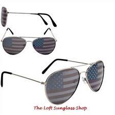 American Flag Aviator Style Patriotic Sunglasses ct269 100% uva uvb