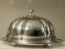 Antique Roberts & Cadman 1785 Sheffield Plate Meat Dome