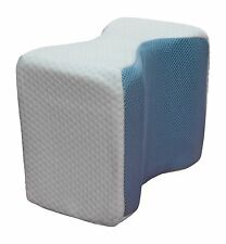 Memory Foam Cool Knee Leg Pillow w/Cooling Gel Pad and Washable Cover