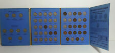 Old Indian Head Penny Collection in Blue Whitman Folder 1875 - 1909 Not Complete