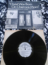 VARIOUS - CHRIST WAS BORN ON CHRISTMAS MORN LP / U.S HLP-34 BLIND WILLIE MCTELL