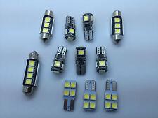 Error Free White KIT 11 SMD LED Interior Lights VW Volkswagen Passat B7 2012-