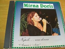 MIRNA DORIS NAPOLI... UNA DONNA AMARO E O BENE CD MINT---  PHONOTYPE